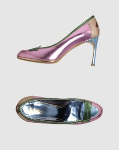 Hmmm...Should I wear heels or loafers today? Guess I will wear both.  Yves Saint Laurent
