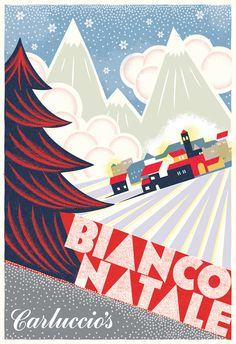 Promotional Christmas Poster for the 2010 season. Illustrated by Lucia Gaggiotti