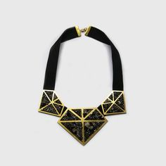 Image of Limited edition   Hand-embroidered necklace BE A PART OF HYES http://www.kisskissbankbank.com/fr/projects/hyes-we-can