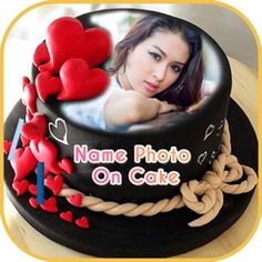 Happy birthday cake with name and photo edit online free Birthday Cake Write Name, Happy Birthday Cake Photo, Birthday Cake Writing, Cake Name, Name Photo, Edit Online, Diy Woodworking, Ale, Photo Editing