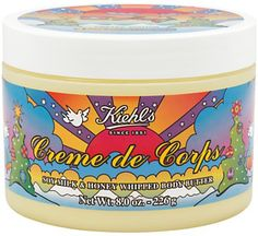 Pin for Later: This Is the Key to Smooth Skin All Winter Long Kiehl's Peter Max Limited Edition Crème De Corps Whipped Body Butter Kiehl's Peter Max Limited Edition Crème De Corps Whipped Body Butter (£36)