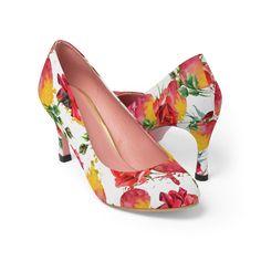 #FashionShoes #WomanShoes #HighHeels #ShoesForSale #FloralShoes #CasualFashion