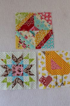 Sewn With Grace: Projects - Farm Girl Vintage blocks