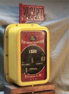 Pittsburg Taximeter