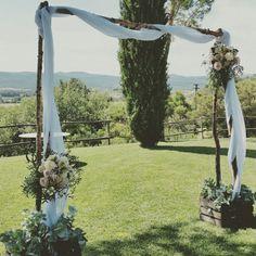 Arco in stile toscano