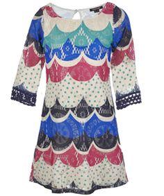 "My Michelle Big Girls' ""Vintage Knit"" Dress (Sizes 7 - 16) $29.99"