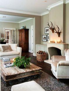 Cool Chic Style Attitude: Interiors   una casa vicino al fiume