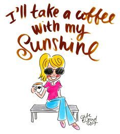 I'll take a coffee with my sunshine - Café Blond, Blond-Amsterdam