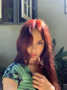 Hair Color Streaks, Red Hair Color, Red Hair Inspo, Red Hair Inspiration, Dyed Red Hair, Dying My Hair, Aesthetic Hair, Grunge Hair, Pretty Hairstyles