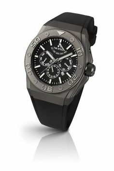 TW Steel Silicone Automatic Black Dial Men's Watch - CE5001 TW Steel. $810.00. Save 40% Off!
