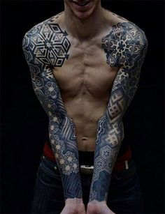 Geometric tattoo, can't keep my eyes off you! 35 of the most intricate and mesmerizing tattoo designs i've ever seen