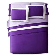 Purple Magic Pantone comforter: $35 on clearance at JC Penney Corbin Park