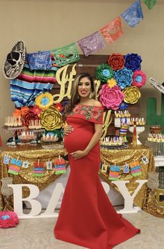 Baby Shower - Mama Must Haves -Fiesta Baby Shower - Mama Must Haves - 🐎 A little Charrito is on his way 🐎 Fiesta themed Babyshower Fiesta / Mexican Bridal/Wedding Shower Party Ideas Mexican Theme Baby Shower, Baby Girl Shower Themes, Baby Shower Dresses, Baby Boy Shower, Babyshower Themes For Boys, Fiesta Outfit, Fiesta Dress, Baby Shower Mexicano, Vestidos Para Baby Shower