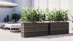 Pot de fleur en résine tressée NATURA M Outdoor Furniture Sets, Decor, Furniture, Outdoor Decor, Outdoor Furniture, Home Decor, Furniture Sets