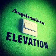 My rooms new vinyls… (Aspiration when I sleep, Elevation when I wake)