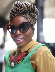 The Ultimate Protective Style: Turban African Head Wraps, Head Wrap Scarf, Turban Style, Scarf Hairstyles, Black Hairstyles, Bad Hair Day, Up Girl, Headgear, Wrap Style