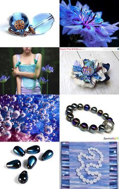 """""""DROPS""""      by Janet Long on Etsy--Pinned with TreasuryPin.com"""