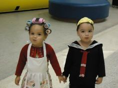 Baby Cosplay - Kiko e Dona Florinda #halloween