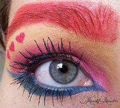 Sailor Chibi Chibi Moon inspired make up by http://beautifulbeauties03.blogspot.de/2013/06/schminkaktion-sailor-chibi-chibi.html