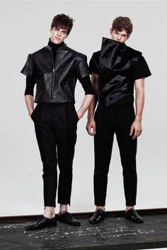 Sean Suen Fall/Winter 2013 Lookbook...mens black designer fashion