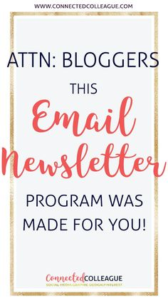 As a Blogger you need to use Convertkit as your email marketing platform, especially since it's specifically made for Bloggers!  As a Virtual Assistant, Convertkit has made a huge difference for my email list and my client's!  You can request a FREE demo