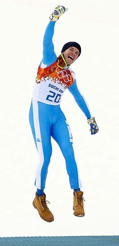 Italy's silver medalist Christof Innerhofer, Sochi 2014 #winnerhofer Sports Uniforms, Winter Olympics, Pride, Silver, Outfits, Style, Fashion, Netball Uniforms, Winter Olympic Games