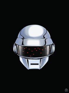 Daft Punk Animated Version Fan Art