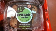 Crunch nut free facility cookies. At Target in bakery.