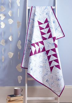 Star Crossed quilt by Amanda Castor of Material Girl Quilts in Issue 47 of Love Patchwork & Quilting magazine