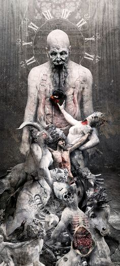 "SEPTICFLESH ""THE GREAT MASS"" ARTWORK by Seth siro anton"
