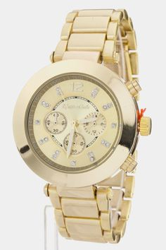 Last One :: Simple yet Trendy Watch (Gold Tone) - $30
