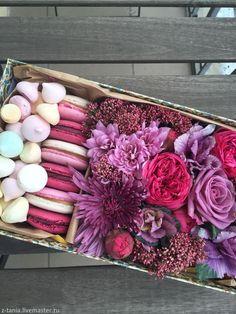 Купить Подарочный набор 3 - живые цветы, букет из живых цветов, подарок, подарок девушке