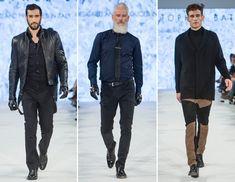 Cena de moda masculina surge no Canadá com jovens estilistas
