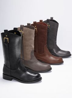Moto Boot VS Collection #MyVSFallEdit