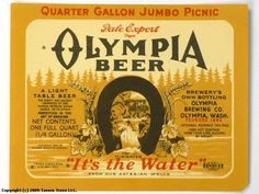 Olympia Brewing Company - Bing Images