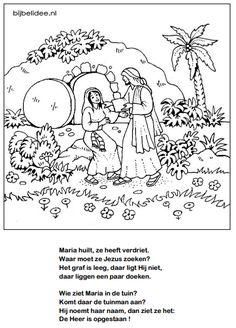 hc 12 het kruis op golgotha tekening bij zondag 12 de