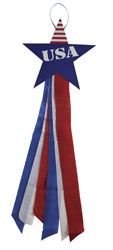 Hooray for USA Windsocks (216-172) from Guildcraft Arts & Crafts!