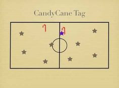 Physical Education Games - CandyCane Tag