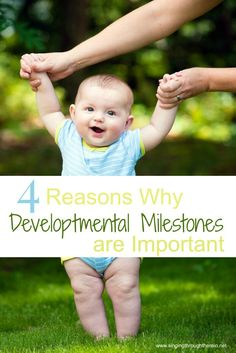 Why developmental milestones are important and how keeping track of them can help YOUR child!