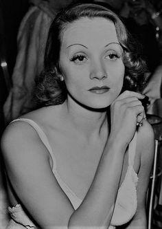 L for legend: Marlene Dietrich