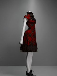 Dress, Widows of Culloden, autumn/winter 2006–7 |  Alexander McQueen: Savage Beauty | The Metropolitan Museum of Art, New York