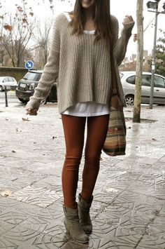 fall and winter outfits tumblr - Google Search