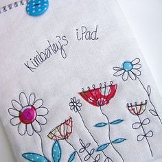 flowers case for ⅰpad by rosiebull designs | notonthehighstreet.com