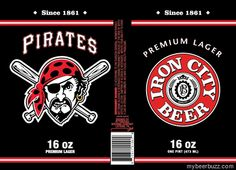 mybeerbuzz.com - Bringing Good Beers & Good People Together...: Iron City & I.C. Light Pittsburgh Pirates Cans