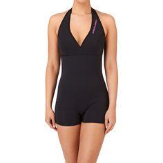Prolimit Wetsuits - Prolimit Womens Pure Fire 2mm Sleeveless Swim Shorty Wetsuit - Black