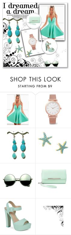 """""""Bez naslova #2"""" by lejlaramo ❤ liked on Polyvore featuring Larsson & Jennings, Lilly Pulitzer, Revo, Charlotte Russe and Call it SPRING"""