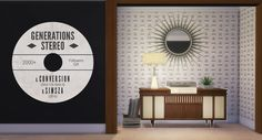 Sims 3 Generations Stereo Converted for Sims 4 by... - simsza