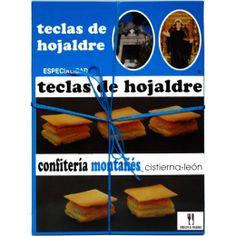 Teclas de San Guillermo - Directo al Paladar El nombre Teclas de San Guillermo de este manjar de la repostería tradicional y artesana de León, como se puede deducir, viene por la forma de tecla que se le da al hojaldre, en el obrador de la confitería Montañés de Cistierna. http://www.directoalpaladar.es/es/product/teclas-de-san-guillermo