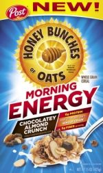 New Honey Bunches of Oats Morning Energy Chocolatey Almond Crunch cereal New Cereal, Crunch Cereal, Fast Moving Consumer Goods, Sesame Cookies, Cinnamon Crunch, Whole Grain Cereals, Cookie Flavors, Thing 1, Toys