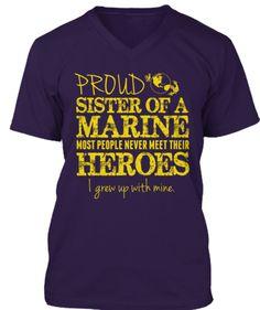 Military Hero Sister Marine